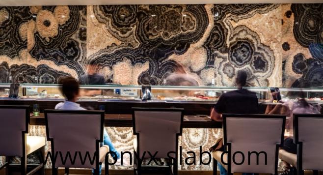Onyx slabs restaurant